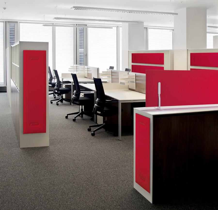 b ro trennwand raumtrenner in rot raumteiler ideen. Black Bedroom Furniture Sets. Home Design Ideas
